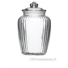 Kitchen Craft Home Made Bocal en verre grand  2.2 Litres – Transparent - B019Q05K0E