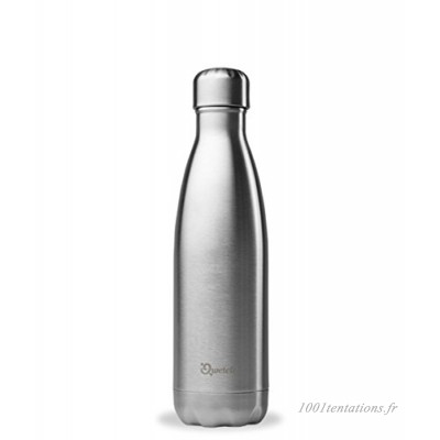 Qwetch Bouteille Isotherme en Inox Brossé - 350 ml - B00ARE805G